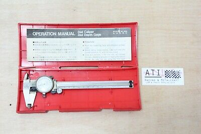 Mitutoyo Dial Caliper Vernier 150mm 0.02 , Made in JAPAN