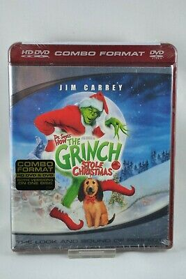 Dr Seuss'  How the Grinch Stole Christmas HD-DVD 2006 BRAND NEW SEALED