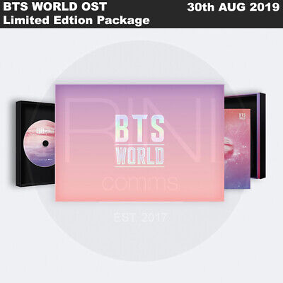 BTS WORLD OST Limited Edtion Package CD+ManagerIDCASE+Card+Magnet+Etc+Tracking