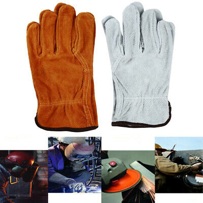 Safety Protect Wear-Resistant Driver Electric Welder Labor Gloves CB