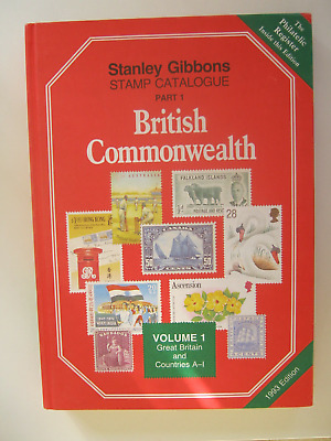 Stanley Gibbons Stamp Catalogue Part 1 British Commonwealth 1993 Edition