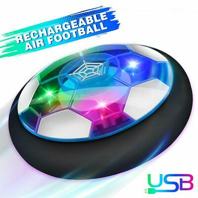 Kids Toys Hover Soccer Ball Toys  Rechargeable Air Power Football  Age 3+ Gift