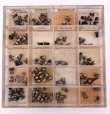 Assorted Alarm Clocks Screws Various Measures Steel Viti Screw Alarm Clock 3WC