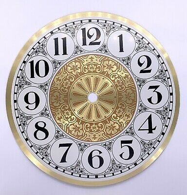 Dial Dial Quadrante 178mm Watch Wall Clock Watch Wall Metal Vintage Old Stock