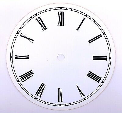 Dial Dial Quadrante 152 mm Watch Wall Clock Watch Wall Plastic Vintage US