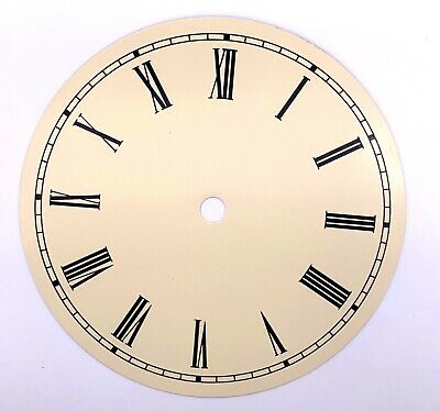 Dial Dial Quadrante 152 mm Watch Wall Clock Watch Wall Metal Vintage We