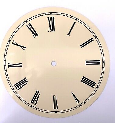 Dial Dial Quadrante 200 mm Watch Wall Clock Watch Wall Metal Vintage NOS