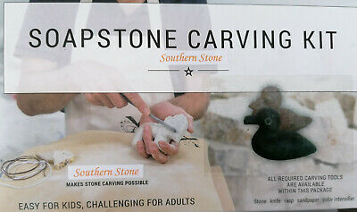 Soapstone Carving Kit