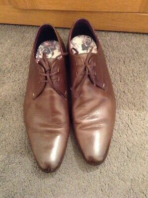 Mens Ted Baker Brown Lace Up Shoes Size 10