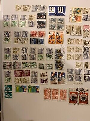 Blocks German Postage Stamps. A Mixed Bag. All Different All Used. Germany SJ184
