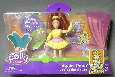 2005 Polly Pocket Stylin Pose Lea at Ballet MIP mint