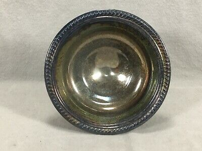 F. B. Rogers Silver Co. Silver Plate Pedestal Compote Candy Dish