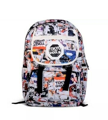 Anime TOKYO GHOUL PRINT Backpack Schoolbag Rucksack Bag For Fans Gift NEW MANGA