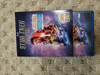Star Trek Discovery Season 2 Blu Ray watched once + slip cover