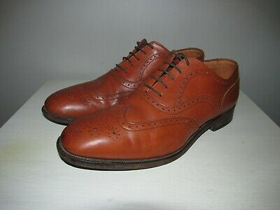 """Brocklehurst Of Bakewell Wing-Back Brogues UK 9 """"Made In England"""""""