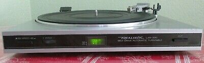 Realistic Lab 330 Turntable Belt Drive Automatic Stereo