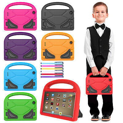 For Amazon Kindle HD 8 Fire 7 EVA Kids Safe Case Shockproof Stand Handle Cover