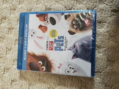 The Secret Life Of Pets blu ray factory sealed