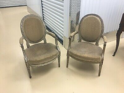 Antique French Chairs Louis XVI