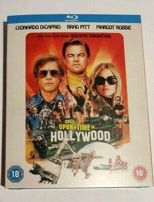 Once Upon A Time In Hollywood Blu-ray, Tarantino, watched once, like new