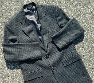Brooks Brothers Men's Sport coat Jacket Check Houndstooth 100% Wool Size 40R