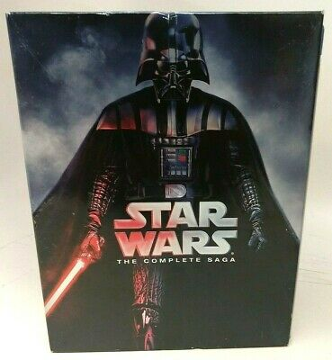 Star Wars The Complete Saga Blu-ray Disc Used #162275-1