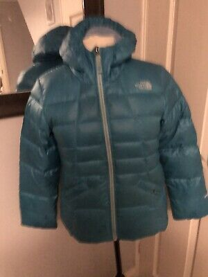 The north face 550 Down jacket  girls size Large 14-15 Years Ladies Size 8
