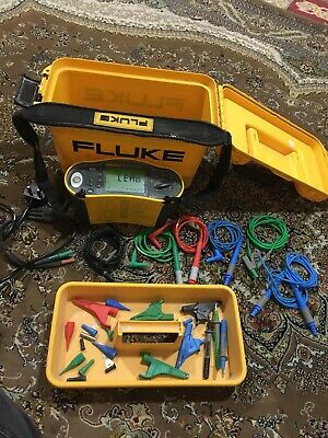 Fluke Multifunction 1651 Tester With Accessories