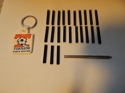 26 Tornado Roll Pins Plus Stainless Steel Pin Punch and Key Chain OEM Parts