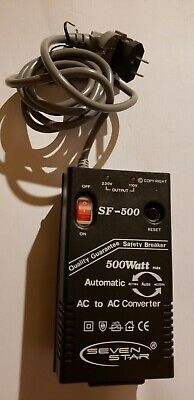 Seven Star SF-500 AC to DC Converter