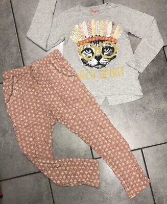 Next...St Bernards Girls Harem Trousers Outfit 10-11 Years (for 140cm/10y)