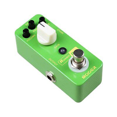New MOOER Rumble Drive Overdrive Pedal Round & Smooth Overdrive Tone True bypass