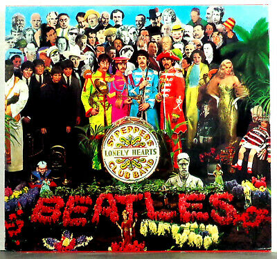The Beatles - Sgt. Pepper's Lonely Hearts Club Band 1987 Parlophone CD Album Exc