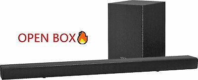 Insignia 2.1 Ch 80W Soundbar System Wireless Subwoofer NS-SBAR21F20 OPEN BOX🔥