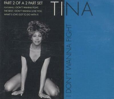 "Tina Turner I Don't Wanna Fight - CD2 UK CD single (CD5 / 5"") CDR6346"