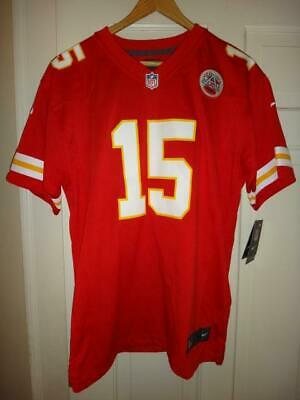 STAINED Youth Nike Patrick Mahomes Kansas City Chiefs Red Game Jersey XL (18/20)