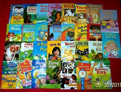 30 Emergent Early Readers Books Ages 4-7 PreK Kindergarten 1st Grades Teachers