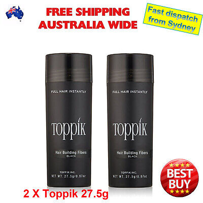 TOPPIK Hair Loss Building Fibers 27.5g Alopecia Keratin Thicker Concealer AU