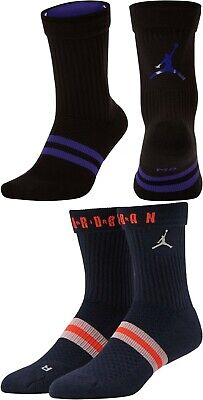 NWT Nike Air Jordan Jumpman Legacy Crew Socks DRI-FIT Cushioned Men Women