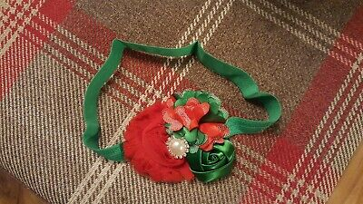 baby christmas head band hair accessories