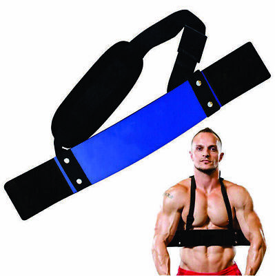 Weight Lifting Arm Support/Arm Blaster Biceps Isolator Bomber Curl Fitness GymMH