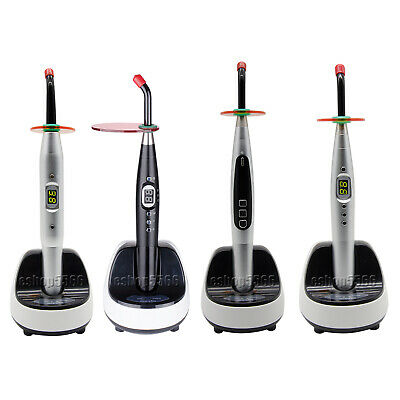 4 types 1/3 Second Dental LED Curing Light Wireless Charging Cure Lamp Machine