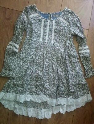 Beutiful NEXT Girls ditsy Floral long TUNIC AGE 6 Y IMMACLATE