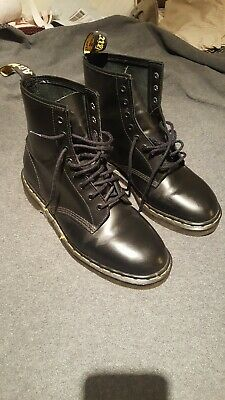Dr. Doc Martens Boots Mens US 11 1460 8 Eyelet Made In England