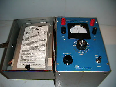 Associated Research Vibroground 263 4 Point Earth Resistivity Test Meter (W8)