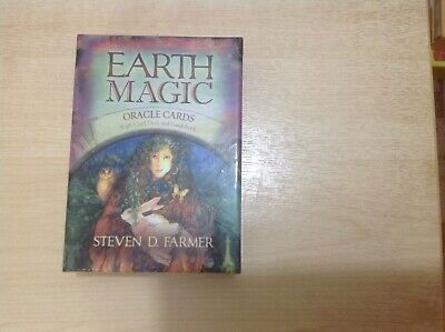 UK Earth Magic Oracle Cards by Steven Farmer Family Tarot Cards Kids Adult Party