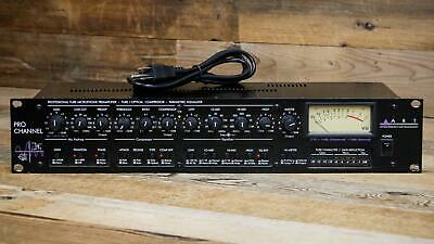 ART Pro Channel Strip w/ Cable Tube Mic Preamp Compressor EQ U134699