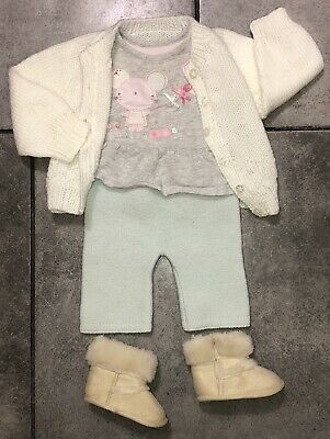 Mothercare Baby Girls Outfit 0-3 M (up to 4.5kg/10lbs)