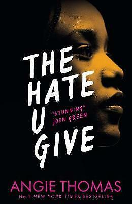 New The Hate U Give By Angie Thomas (Paperback) Free Postage
