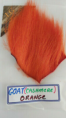 """LG /"""" GOAT /""""  Purple  Hairs /& Furs  FLY TYING FLIES Wings /& Tails CASHMERE"""